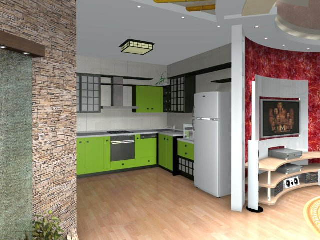 Дизайн квартиры студии на российский
