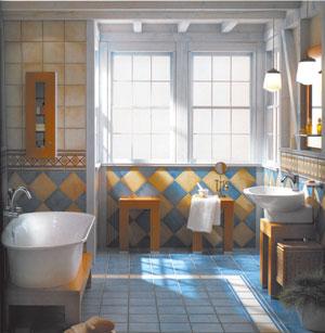 И в ванной может быть мебель!