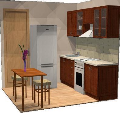 Дизайн малогабаритной кухни блоги