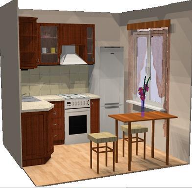 малогабаритной кухни фото