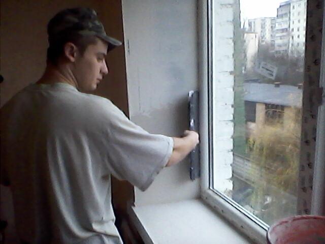 Откосы на окнах сделать самому