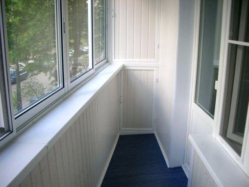 Ремонт своими руками балкона фото