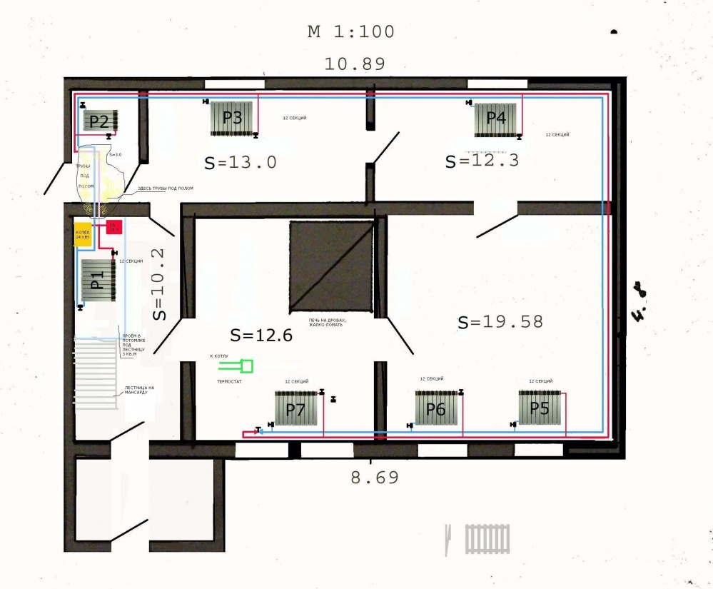 Совсем недавно поступила информация, что для одного из частных домов Московской области, площадь которого составляет...