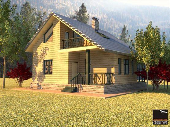 проект строительства загородного дома