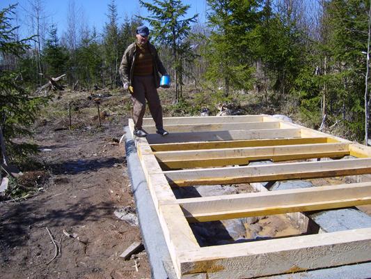 Строим каркасный дом своими руками и своими силами