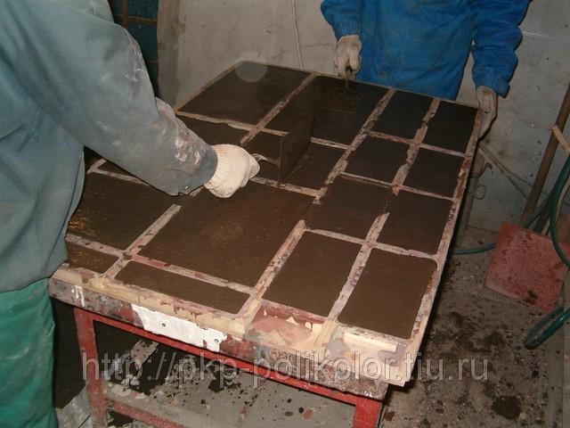 Мраморные плитки своими руками 440