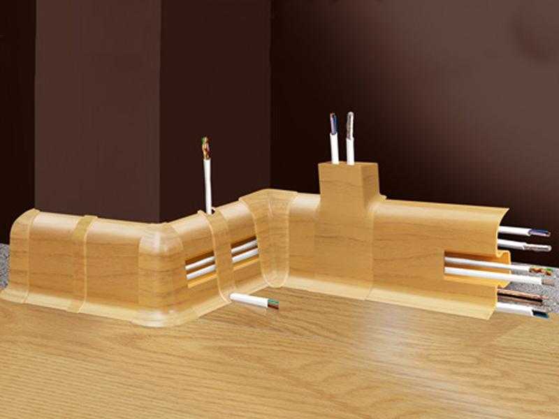 Пластиковый плинтус Cezar с кабель-каналом изготавливается польской компанией из высококачественного вспененного ПВХ Ламинат в М
