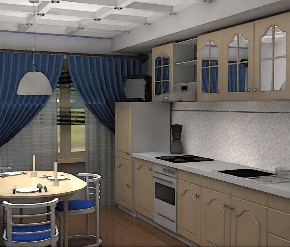 Дизайн кухни XIX век постепенно меняет образ жизни обитателей особняков и