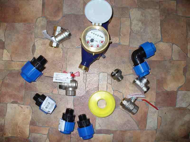 ввода водопровода в