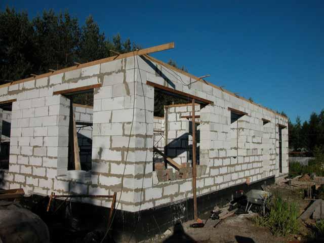 проекты домов из пеноблоков - Нужные схемы и описания для всех.
