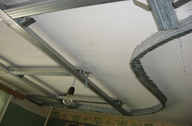 Потолок сайдинга своими руками