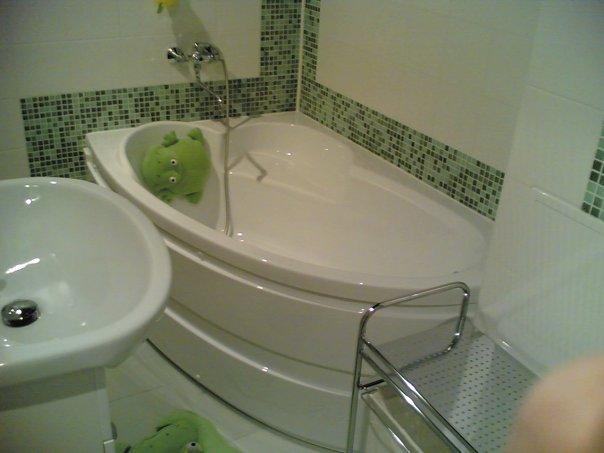 Ванная комната в строгом стиле
