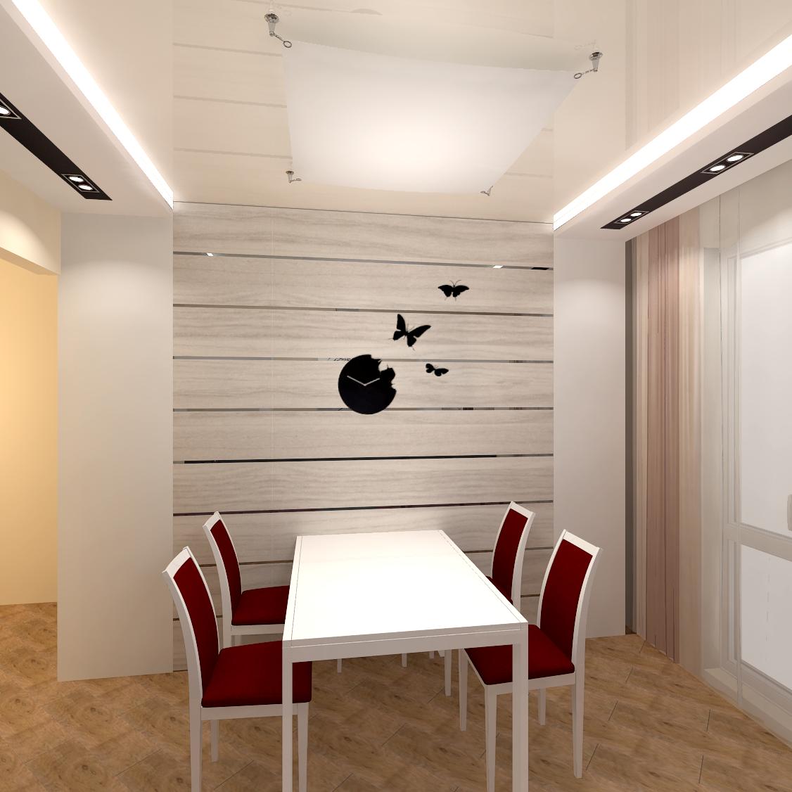Дизайн ламинат на стене фото
