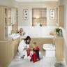 Дизайн и интерьер ванной комнаты как