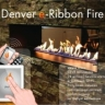 Автоматический биокамин Denver e-Ribbon Fire