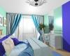 Спальня для красивой женщины. Особые пожелания:  СВЕЖО И ПРОХЛАДНО.