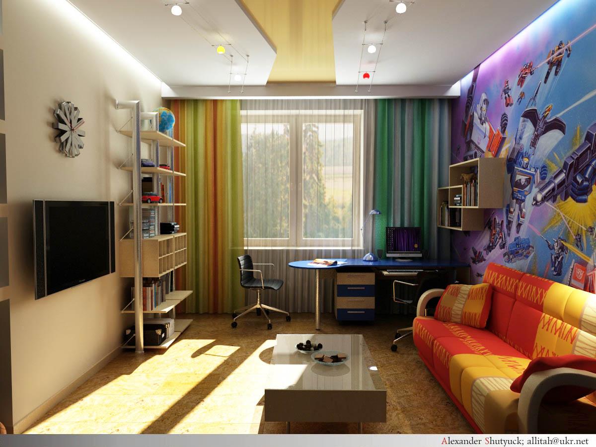 Дизайн комнаты подростка в хрущевке