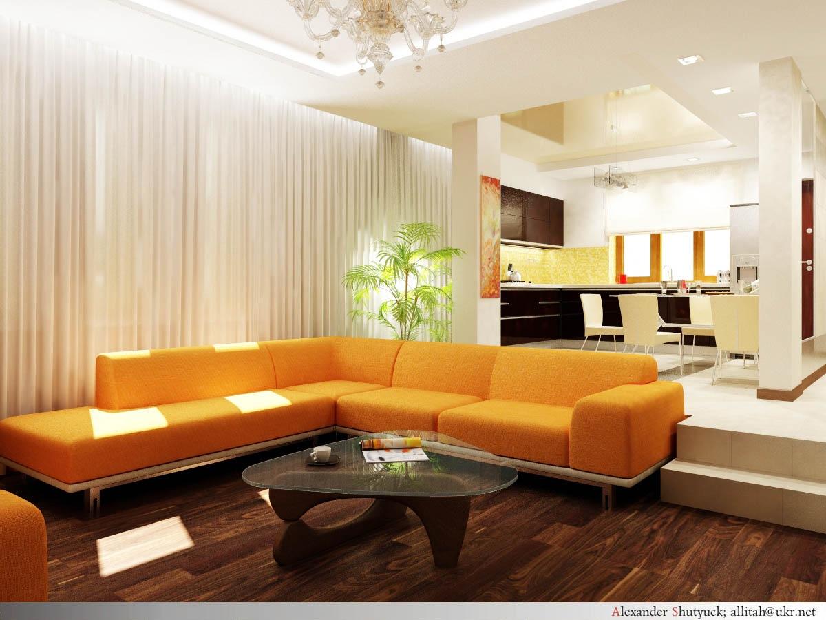 Кухня-гостиная 40 кв.м дизайн фото