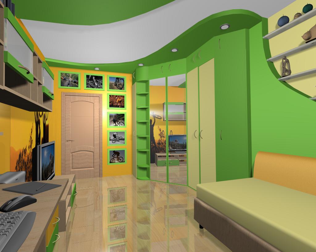 Цвет для комнаты мальчика подростка