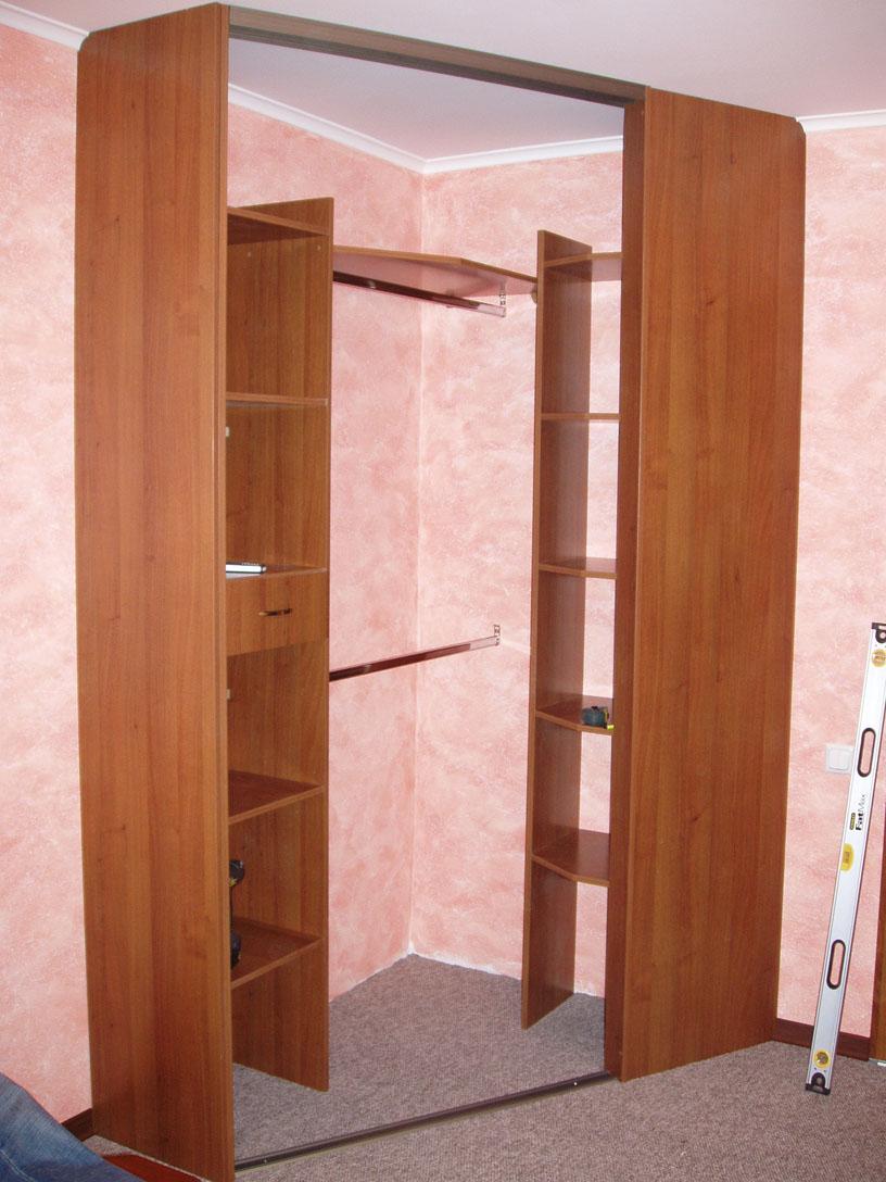 Угловые шкафы своими руками фото