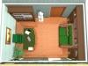 Кабинет в загородном доме