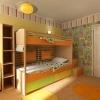 Детская комната. Визуализация.
