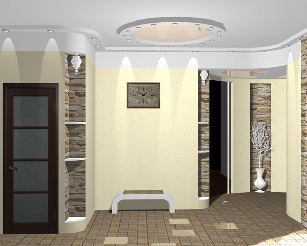 перепланировка и дизайн квартиры